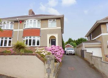Thumbnail 3 bed semi-detached house for sale in Brendon Avenue, Weston-Super-Mare