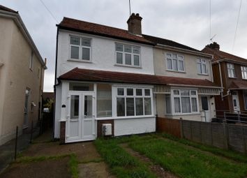 Thumbnail 3 bed semi-detached house to rent in Beaumont Avenue, Clacton-On-Sea