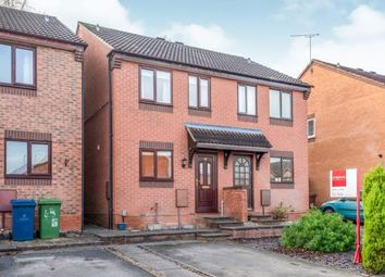 Thumbnail 2 bed semi-detached house for sale in Armstrong Avenue, Stafford, Staffordshire