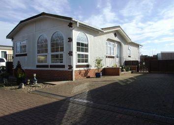 Thumbnail 2 bedroom mobile/park home for sale in Carter Street, Fordham, Ely