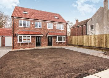 Thumbnail 4 bed semi-detached house for sale in Plot 3, Main Street, Sigglesthorne, Beverley