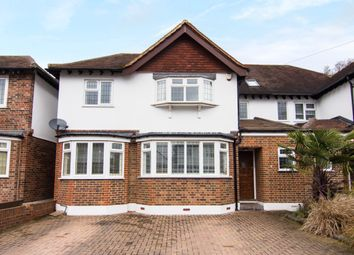 Thumbnail 5 bed semi-detached house for sale in Overdale Avenue, New Malden