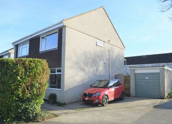 Thumbnail 2 bed semi-detached house for sale in Messack Close, Falmouth