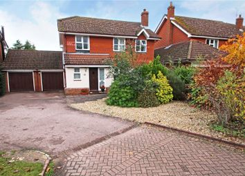 Thumbnail 4 bed detached house for sale in Wilson Drive, Ottershaw, Surrey