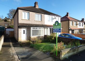 Thumbnail 3 bed semi-detached house for sale in Netherhall Road, Baildon, Shipley