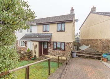 Thumbnail 3 bed semi-detached house to rent in Meadow Rise, Penwithick, St. Austell