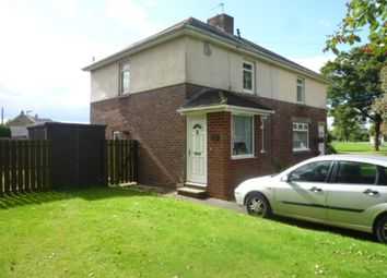 Thumbnail 3 bed semi-detached house for sale in Seaton Crescent, Holywell, Whitley Bay