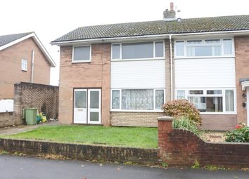 Thumbnail 3 bed semi-detached house to rent in Tennyson Road, Caldicot