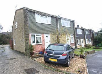 Thumbnail 3 bed semi-detached house to rent in Falkland Garth, Newbury