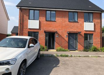 Thumbnail 2 bed semi-detached house to rent in Alexander Turner Close, Reading, Berkshire