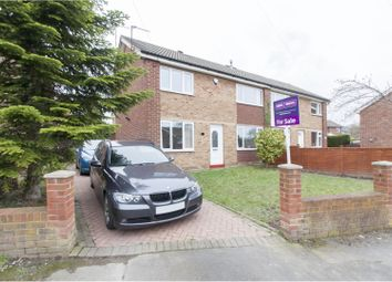 Thumbnail 3 bed semi-detached house for sale in Kempwell Drive, Rotherham