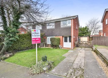 Thumbnail 3 bed semi-detached house for sale in Nightingale Close, Mulbarton, Norwich
