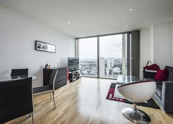 Thumbnail 1 bed flat to rent in Marsh Wall, London