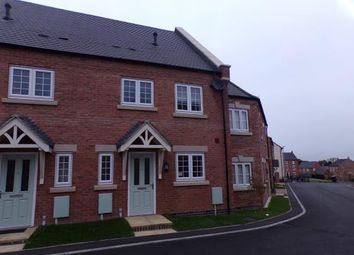 Thumbnail 3 bed terraced house for sale in Lavender Way, Tutbury, Burton On Trent, Staffordshire