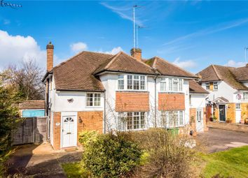 Thumbnail 3 bed semi-detached house for sale in Severn Drive, Esher, Surrey