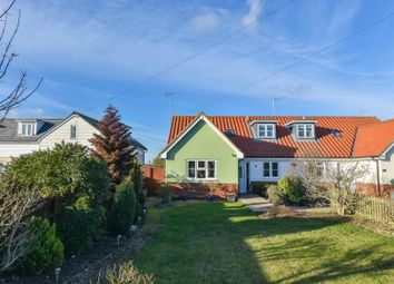 Thumbnail 4 bed semi-detached bungalow for sale in School View Cottage, Watch House Green, Felsted, Dunmow