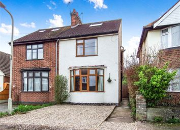 Thumbnail 3 bed semi-detached house for sale in Byron Street, Loughborough, Leicestershire