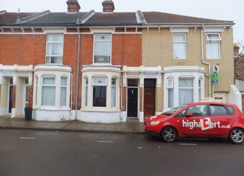 Thumbnail 5 bedroom terraced house to rent in Harold Road, Southsea