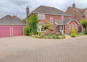 Thumbnail 4 bed detached house for sale in Appian Way, Baston, Peterborough