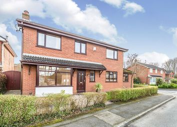 Thumbnail 4 bed detached house for sale in Fernleigh, Leyland, Lancashire