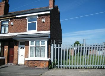 Thumbnail 3 bed end terrace house for sale in Cemetery Road, Willenhall