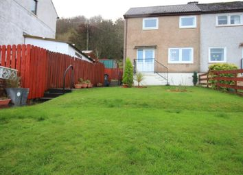 Thumbnail 2 bed end terrace house for sale in Forfar Road, Greenock