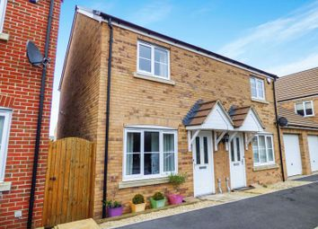 Thumbnail 2 bed semi-detached house for sale in Kingfisher Close, Trowbridge