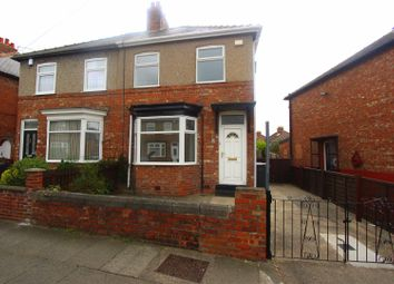 Thumbnail 2 bed semi-detached house for sale in Alwyn Road, Darlington