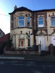 Thumbnail 4 bed terraced house to rent in Allerton Road, Tranmere, Wirral