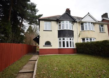 Thumbnail 3 bedroom semi-detached house for sale in The Highway, New Inn, Pontypool