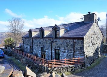 Thumbnail 4 bed detached house for sale in Mur Mawr, Llanberis