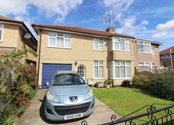Thumbnail 5 bedroom semi-detached house for sale in Burley Avenue, Downend, Bristol