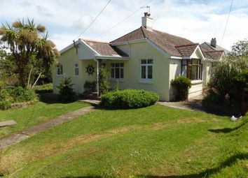 Thumbnail 3 bed detached bungalow to rent in North Road, Hartland, Devon