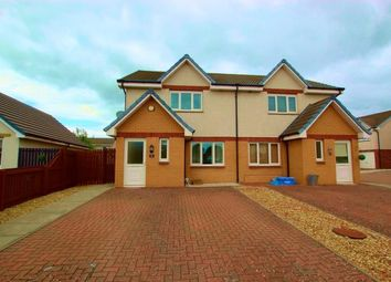 Thumbnail 3 bed semi-detached house to rent in Priory Crescent, Kirkmuirhill, Lanark