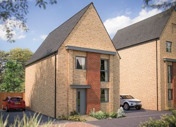 "Thumbnail 3 bed detached house for sale in ""The Ewell"" at Station Road, Longstanton, Cambridge"