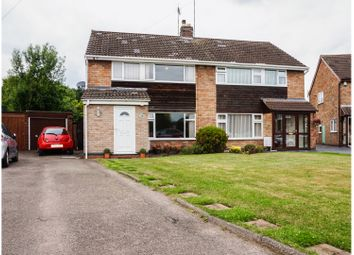Thumbnail 3 bed semi-detached house for sale in Oddicombe Croft, Styvechale