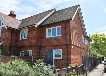 Thumbnail 2 bed semi-detached house for sale in Runnemede Road, Egham