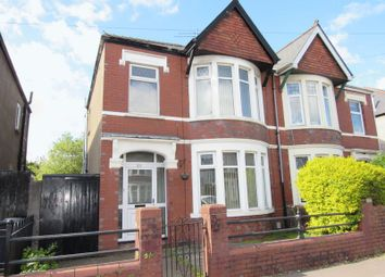 Thumbnail 3 bedroom semi-detached house for sale in Lansdowne Road, Canton, Cardiff