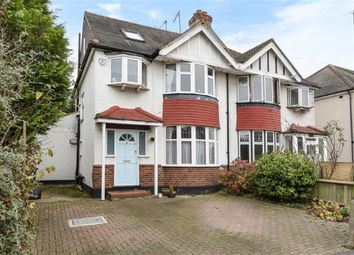 Thumbnail 4 bedroom semi-detached house for sale in Cranleigh Gardens, Kingston Upon Thames, Surrey