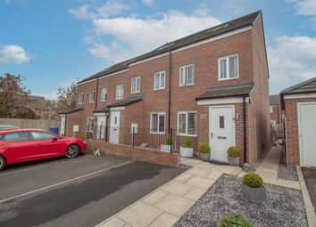 Thumbnail 3 bed terraced house for sale in Wheatfield Road, Westerhope, Newcastle Upon Tyne