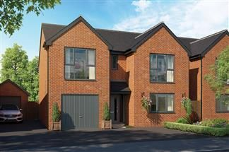 Thumbnail 4 bedroom detached house for sale in Bredon Road, Tewkesbury, Wiltshire