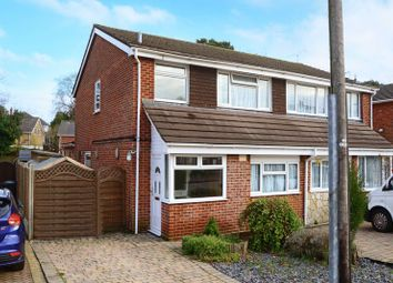 Thumbnail 3 bed semi-detached house for sale in Stanton Road, Ensbury Park