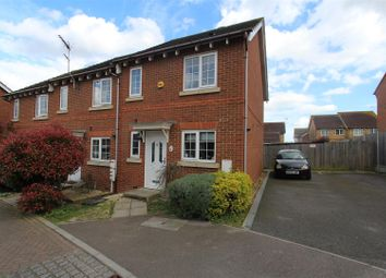 Thumbnail 2 bed end terrace house to rent in Primrose Way, Minster On Sea, Sheerness
