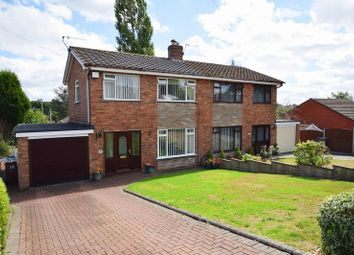 Thumbnail 3 bedroom semi-detached house for sale in Gaskell Road, Stoke-On-Trent