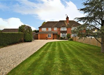 Thumbnail 5 bed semi-detached house for sale in Burghfield Village, Reading