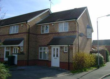 Thumbnail 3 bed end terrace house to rent in Sheridan Way, Hucknall, Nottingham