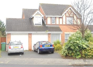 Thumbnail 4 bed detached house to rent in Brades Road, Oldbury