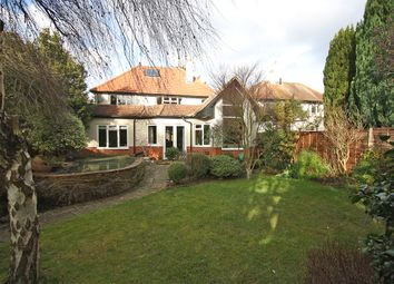 Thumbnail 4 bed detached house for sale in Silverlea Gardens, Horley, Surrey