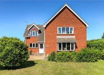 Thumbnail 4 bed detached house for sale in Wood Lane, Swardeston, Norwich, Norfolk
