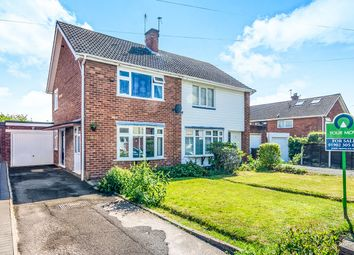 Thumbnail 2 bedroom semi-detached house for sale in Hopton Crescent, Wednesfield, Wolverhampton